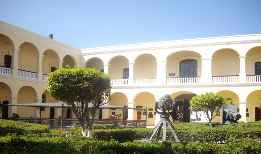 Antes Museo Naval