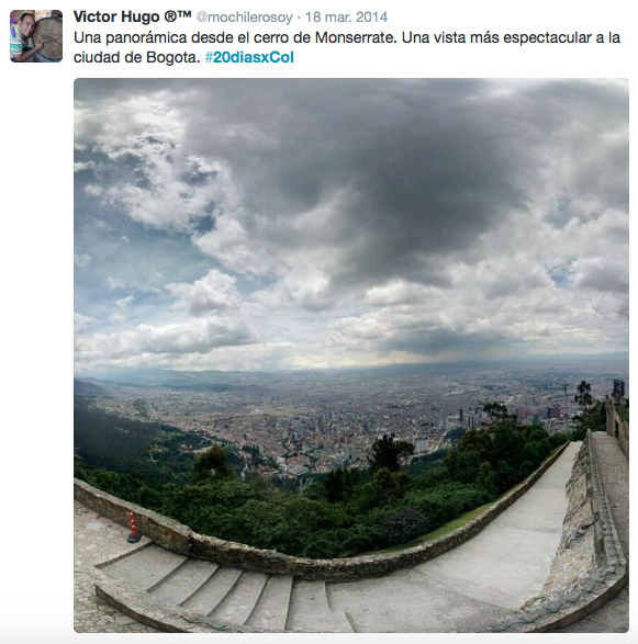 Colombia - Monserrate